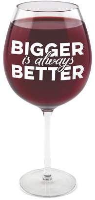 "BigMouth Inc. ""Bigger Is Always Better"" Giant Wine Glass.  #bigmouth #biggerisbetter #ad"