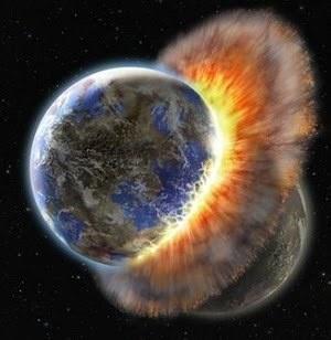 Earth - 4.5 Billion Years Ago #science