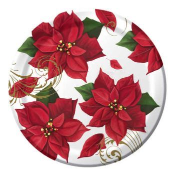 Elegant plastic dinnerware that looks like real china. Paper plates and napkins for any holiday or occasion.  sc 1 st  Pinterest & 699 best Christmas Dinnerware images on Pinterest | Christmas china ...