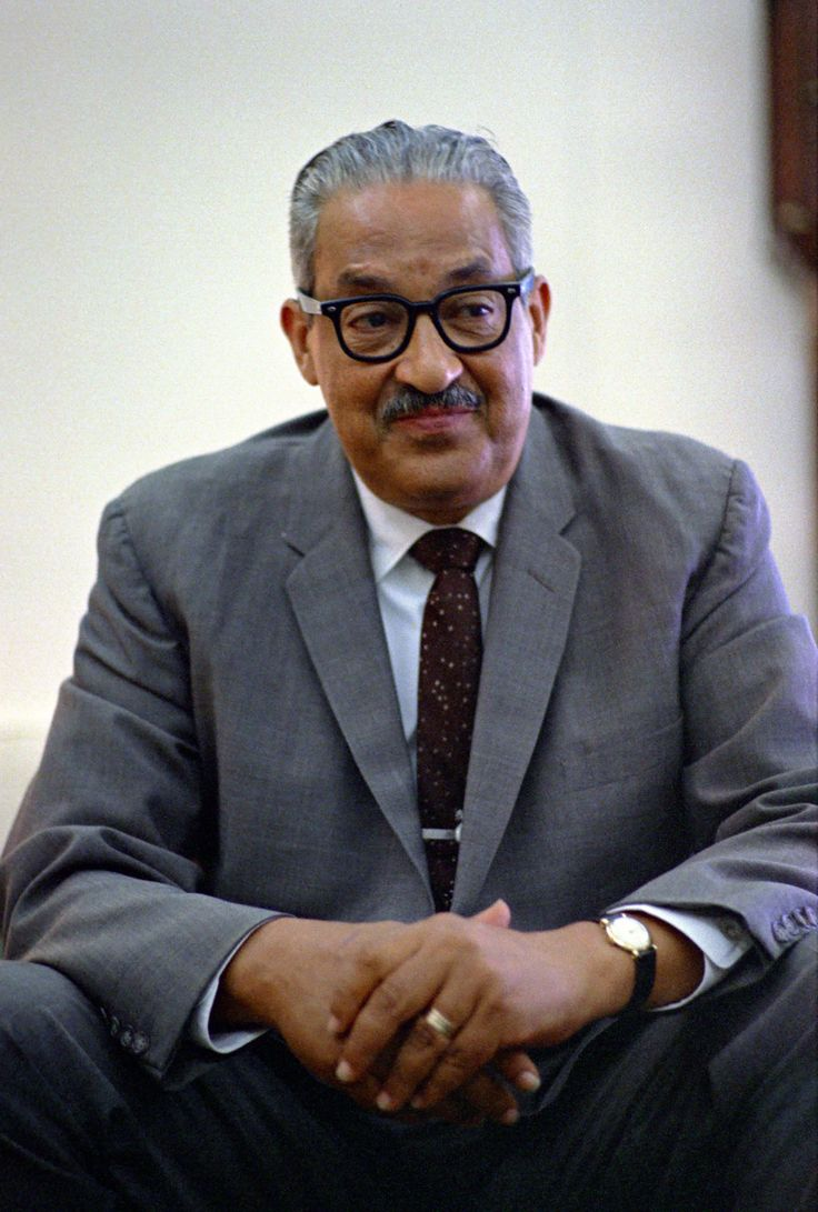 Thurgood Marshall (July 2, 1908 – January 24, 1993) was an Associate Justice of the United States Supreme Court, serving from Oct. 1967 until Oct. 1991.