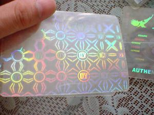 Hologram ID Card Lamination Pouches