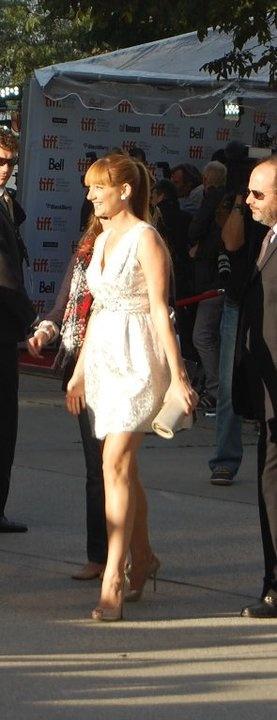 Judy Greer - TIFF 2011 taken by Elana Camille