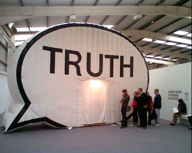 """What would you say if someone asked, """"What is the truth?"""" It's a broad question with an even broader amount of responses, but that's exactly what the Cause Collective, in collaboration with Hank Willis Thomas, is trying to solve with the installation, The Truth Is I See You."""