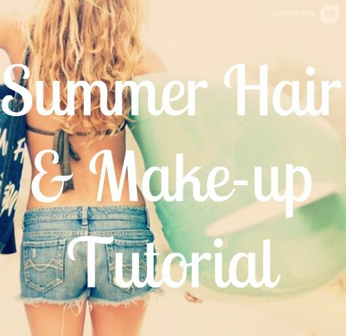 Beachy Summer Hair Tutorial