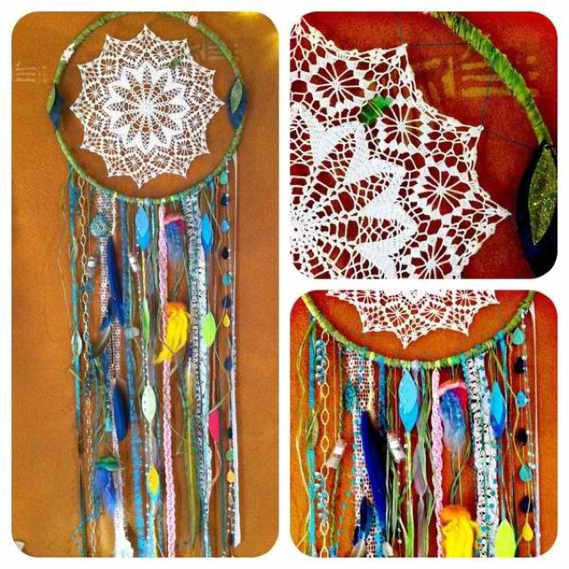 how to make dream catcher at home