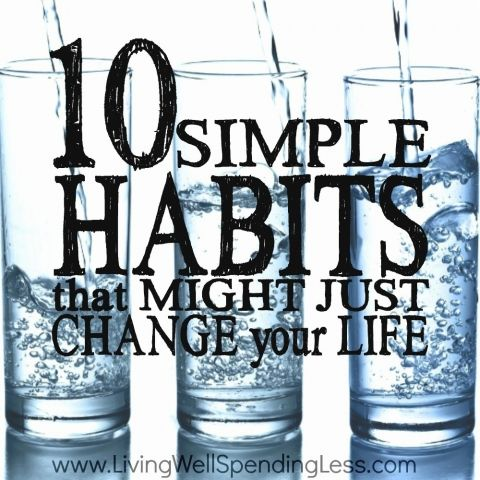 Good habits conserve mental energy...