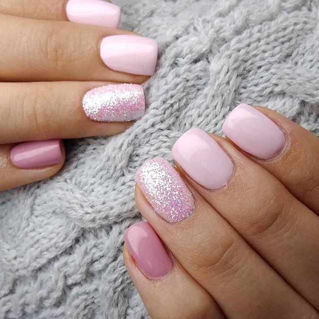 Spring Nail Trends 2020 Nail Design I 2020 Med Billeder Pink
