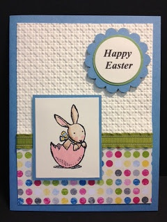Everybunny Easter Card  Stampin' Up! Rubber Stamping