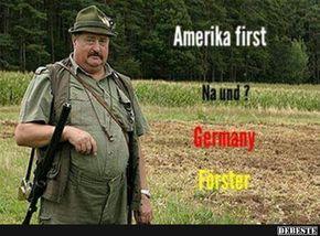 Amerika first.. na und?