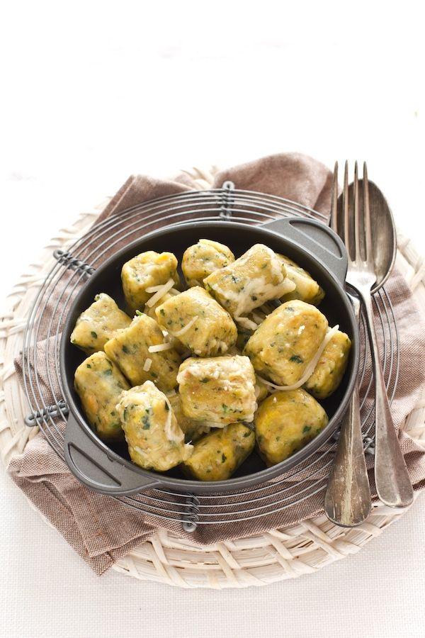 Gnocchi di pane con Parmigiano Reggiano for a bunny