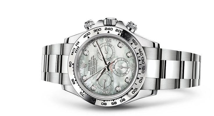 Rolex Cosmograph Daytona Watch: 18 ct white gold - 116509