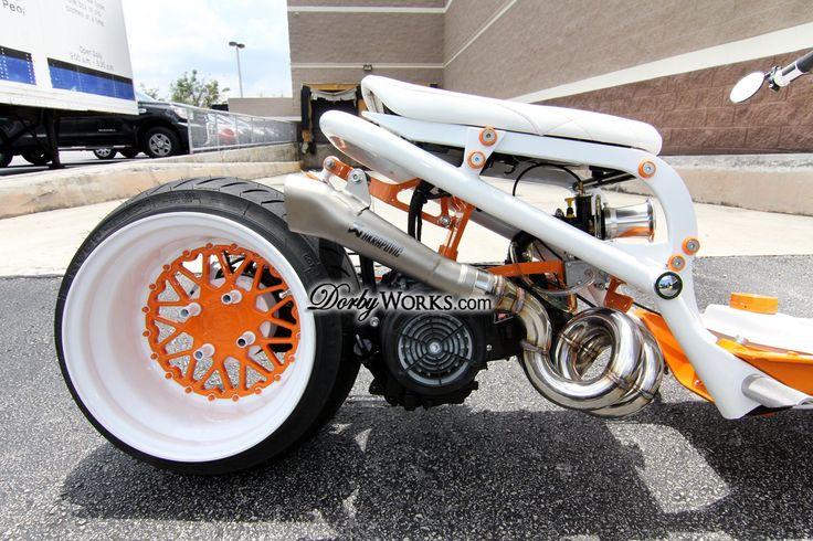 DorbyWorks Orange n' White
