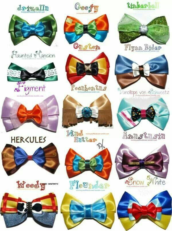 Disney bow ties