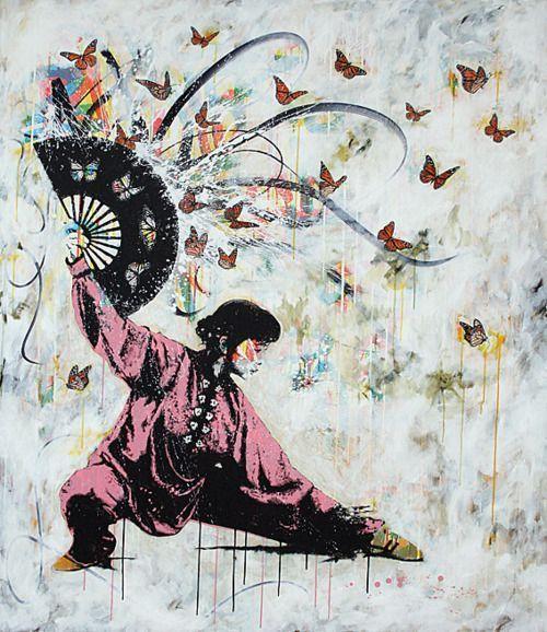 leque #kungfu