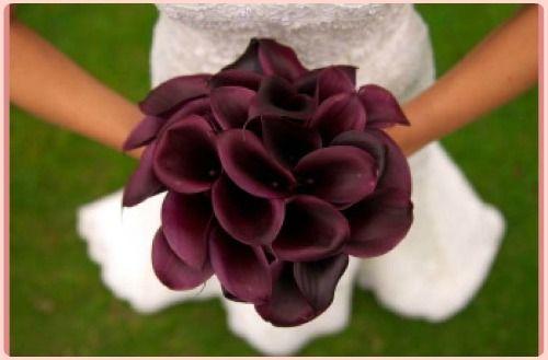 Lo splendido bouquet di calle nere per il blog di Zankyou