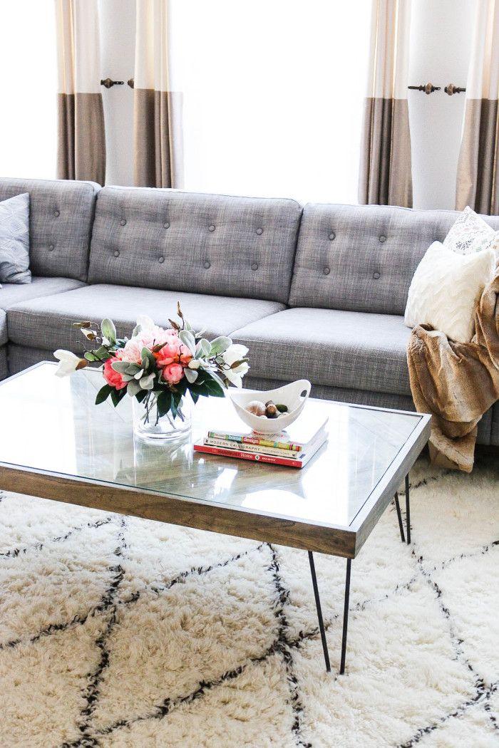 diy how to tuftbutton your ikea karlstad cushions