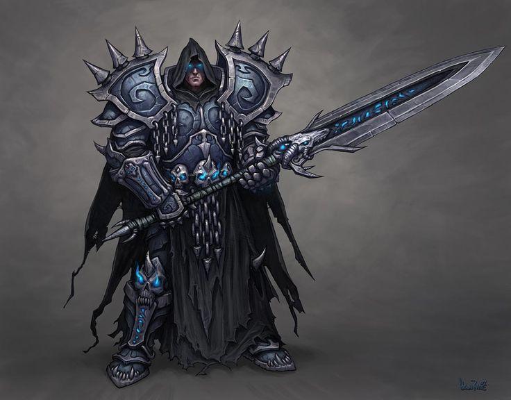 Wrath of the lich king-death-knight