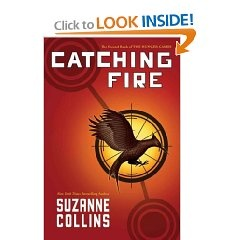 Catching Fire - 2nd book in the Hunger Games series.  Must read !!