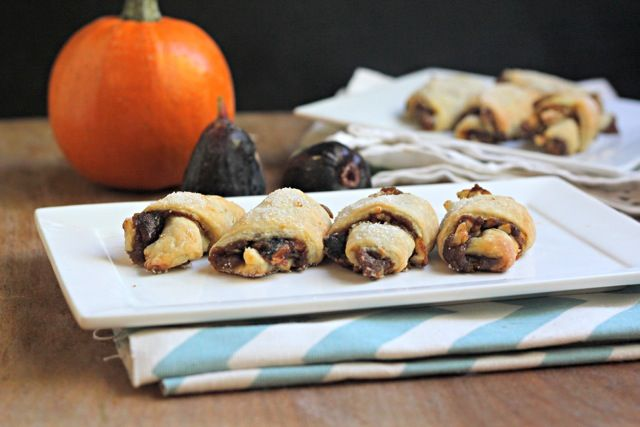 Pumpkin Butter and Caramelized Fig Rugelach - What Jew Wanna Eat