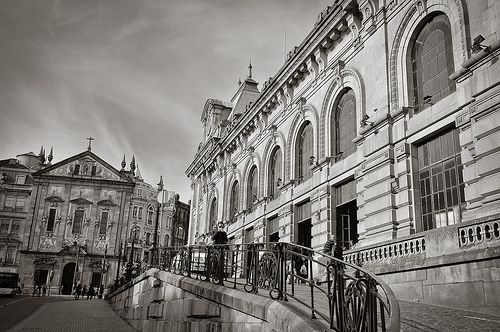São Bento train station, Porto #Portugal