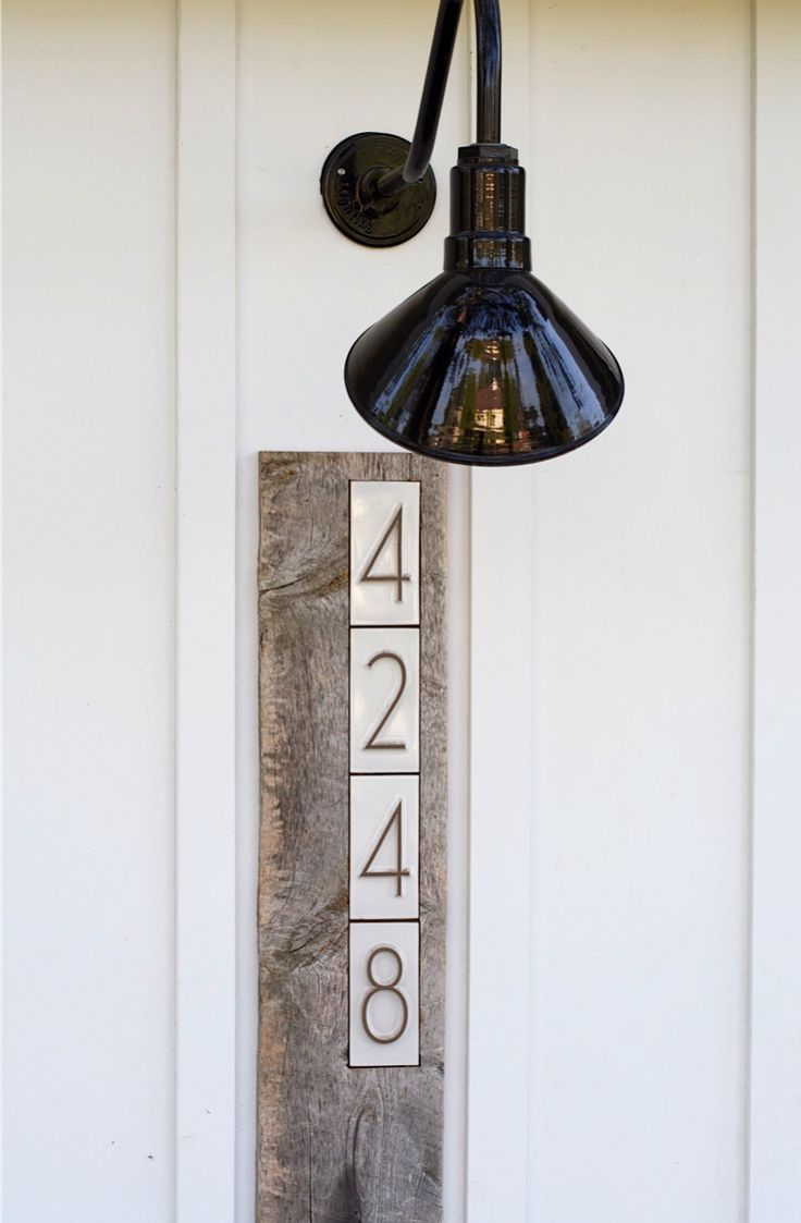 111 best house numbers images on Pinterest Address numbers