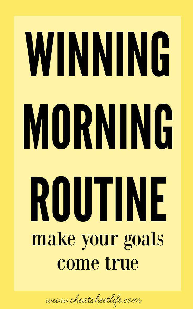 habits for morning routine to boost motivation