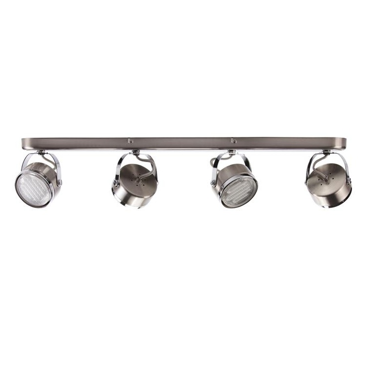 Oxy Brushed Chrome 4 Light Spotlight Bar  85 30. 20 best Products   Spotlights images on Pinterest   Basement
