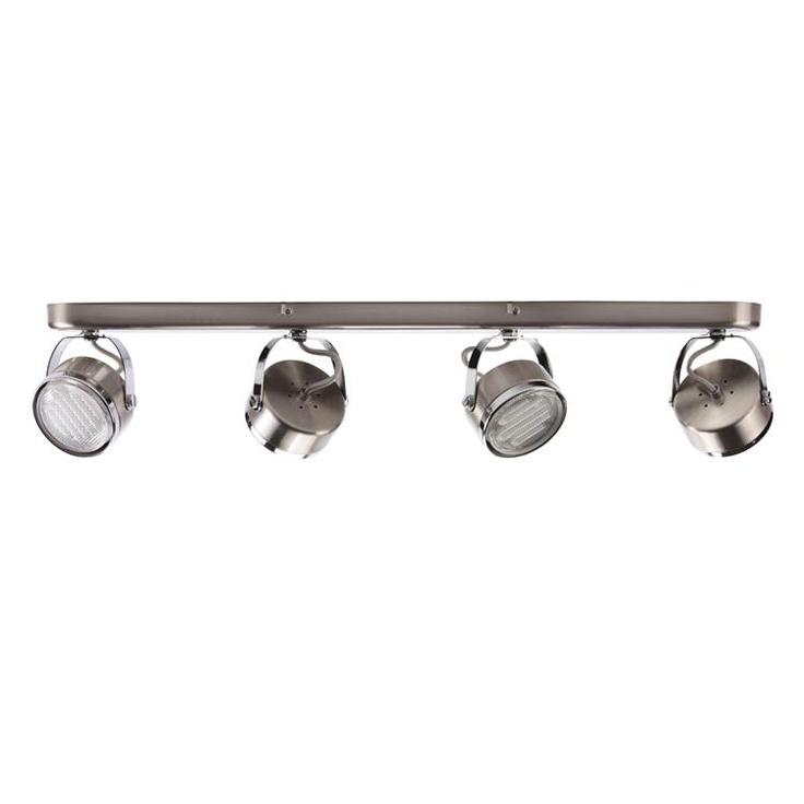 Oxy Brushed Chrome 4 Light Spotlight Bar £85.30