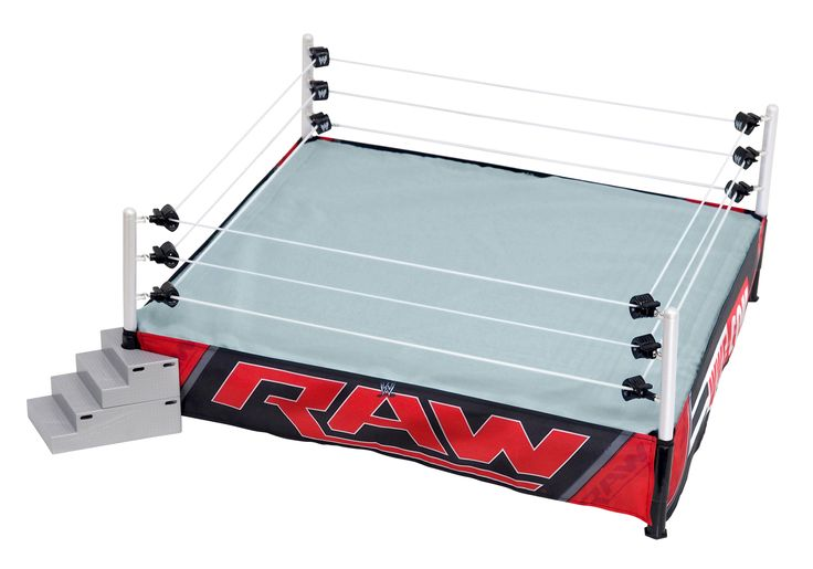 Ring Skirt (Raw - 2014 w/ WWE website) Ringside Exclusive - WWE Toy Wrestling Action Figure Playset Accessory