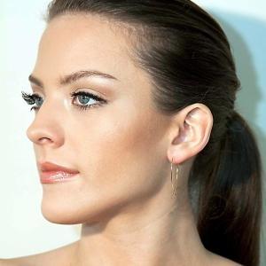 Lana Jewelry Large Upside Down Hoop Earrings in 14K Gold ZEjn82o