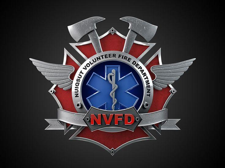 Nuiqsut Volunteer Fire Department Logo Design
