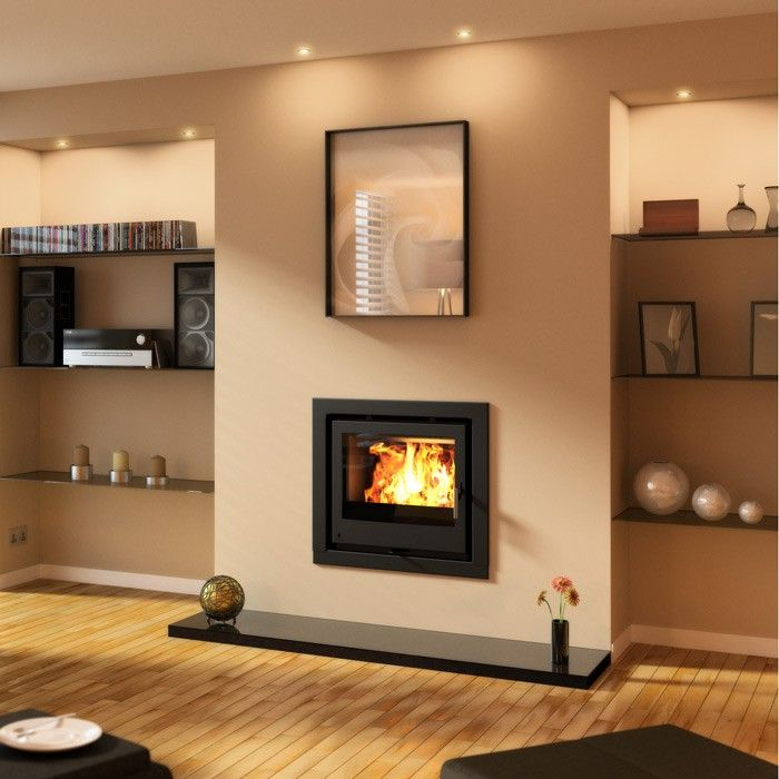 Aarrow iSeries 400s Multi-fuel / Woodburning Inset Stove - Stoves Are Us
