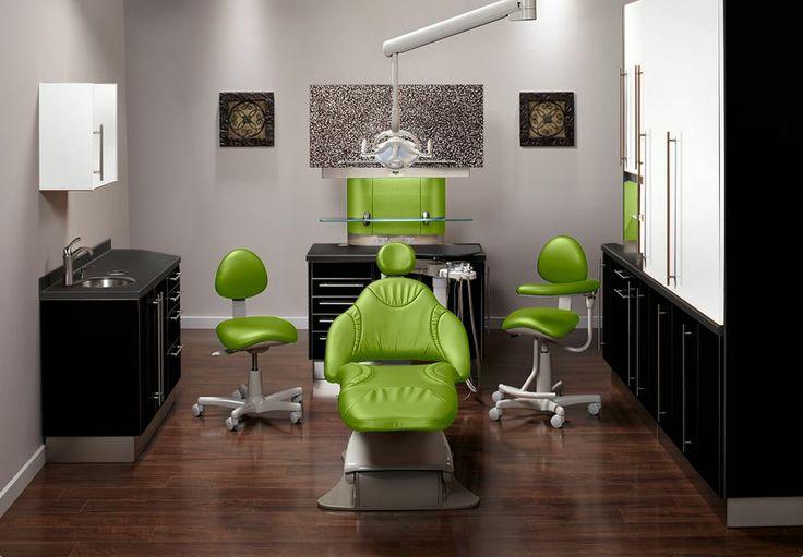Dental office designed using Midmark's color selctor!
