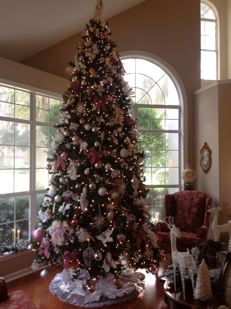 12 ft. tree in my front room And yep Susan this is my home & I do all the decorating myself
