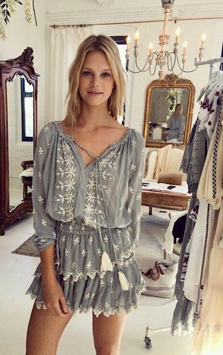 BOHO BEAUTY-Popover Dress | LoveShackFancy