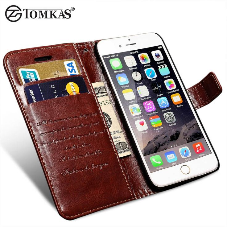 Wallet Leather Case For iPhone 6 6S / 6 6S Plus Luxury Coque Cover for iPhone 6 S Plus. Compatible iPhone Model: iPhone 6 Plus,iPhone 6s,iPhone 6,iPhone 6s plusSize: 4.7 inch / 5.5 inchCompatible Brand: Apple iPhonesRetail Package: NoType: CaseFunction: Dirt-resistantBrand Name: TomkasTime on Market: 2016 Newest and HottestMaterial: Retro PU Leather CaseStatus: In Stock / Wholesale SupportStyle: Luxury Retro Elegant Fashion Vintage Crazy Horse Pattern ShellFeature 1: Luxury PU Leather Case…
