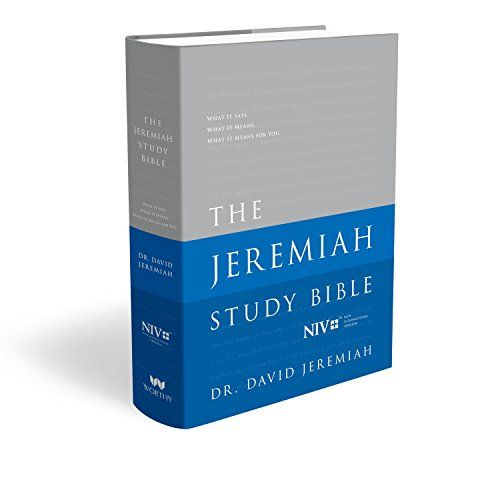 The Jeremiah Study Bible: What It Says. What It Means. What It Means for You. (NIV) Jacketed Hardcover - http://www.darrenblogs.com/2016/12/the-jeremiah-study-bible-what-it-says-what-it-means-what-it-means-for-you-niv-jacketed-hardcover/