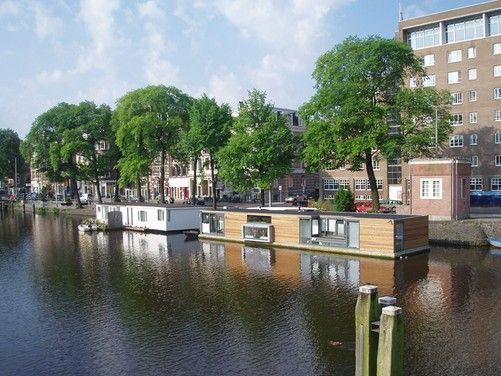 Wij ontwerpen voor u een #woonboot die volledig aansluit bij uw wensen| MTB Architecten.