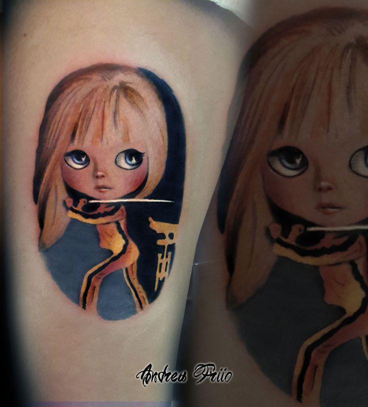 KILL BILL DOLL tattoo