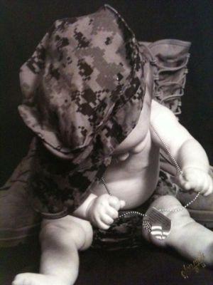Marine Corps baby