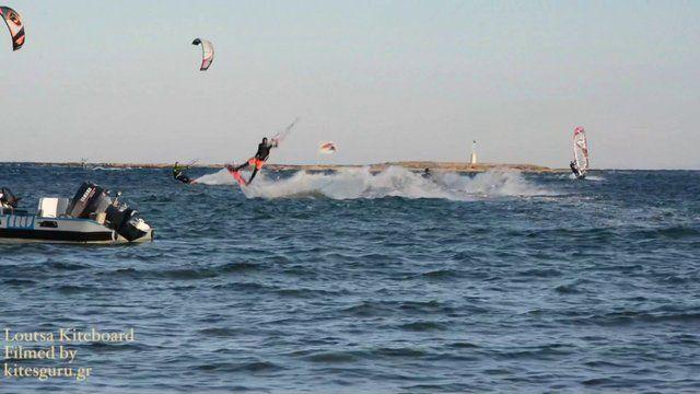 Loutsa Kiteboard - kiteboarding greece