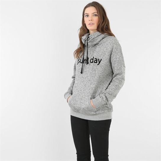 Sweatshirt mit Stehkragen - Sweatshirt-Kollektion - Pimkie Deutschland