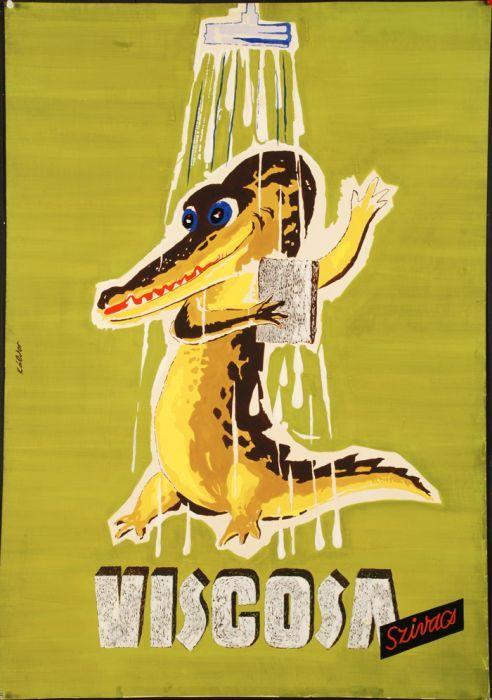 A hirdetőoszlop humoristái – vicces reklámplakátok az 50-es évekből - Nők Lapja Café