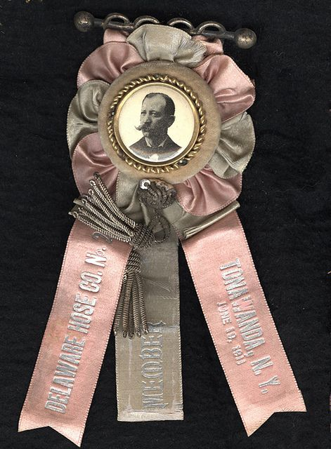 Fireman's Parade Ribbon - 1911, Tonawanda, NY by Photo_History, via Flickr