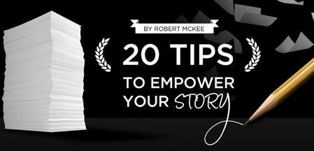"""""""20 tips to empower your story"""" - gratis download af E-bog fra SoapPresentations.com mod aflevering af emailadresse!"""