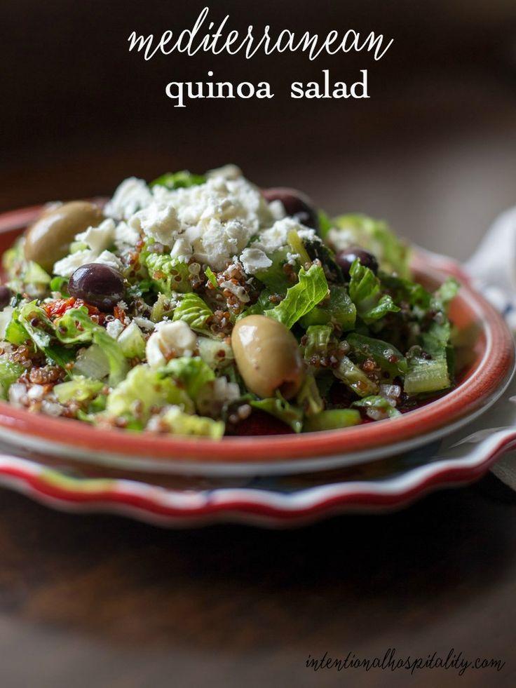 Mediterranean Quinoa Salad Recipe Healthy Recipes