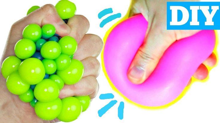 Diy Squishy Balloon : BAKING SODA STRESS BALLS EASY DIY Squishy Toys for Kids DIY & Crafts Pinterest Baking ...