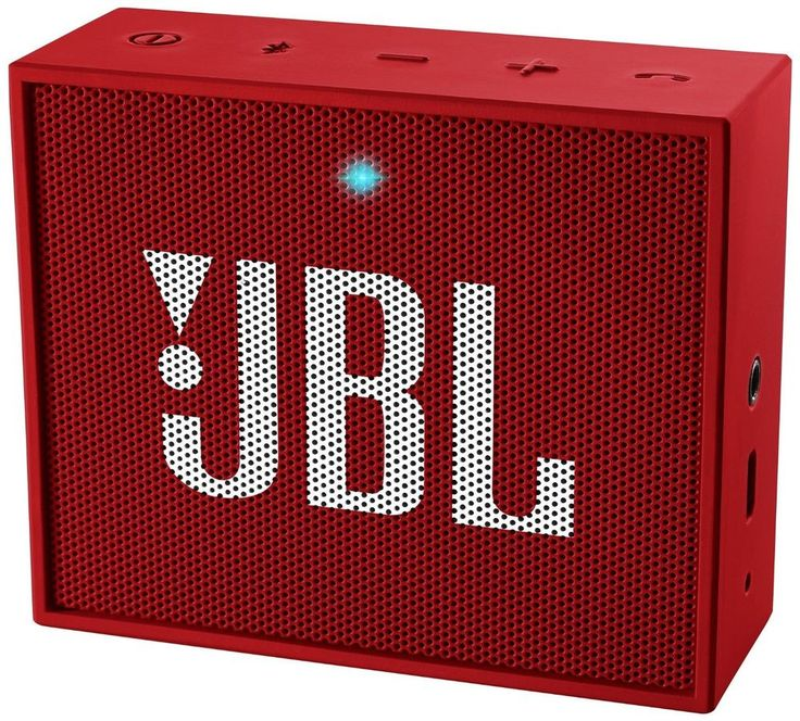 New JBL Go Ultra Portable Rechargeable Bluetooth Speakeraux in Compatible Red | eBay