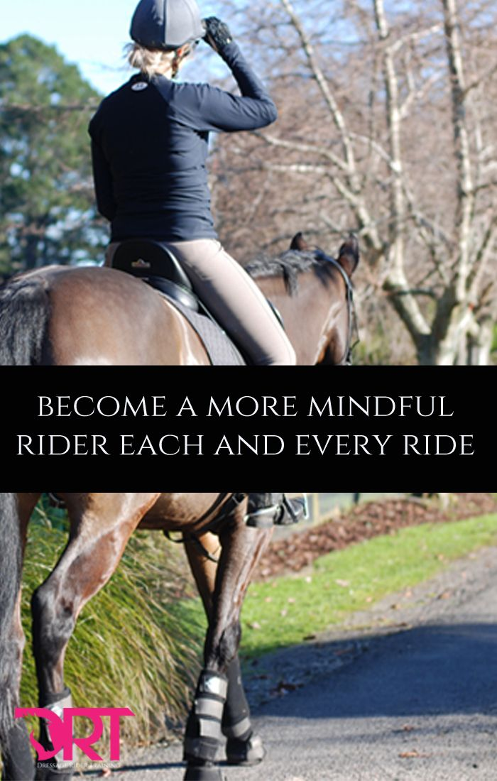 Learn how to be more present and mindful when you ride.