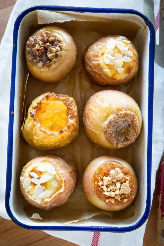 5 Ways to Stuff Baked Apples with Cheesecake, Pecan Pie, & More — Fast and Fun Sweet Treats   The Kitchn